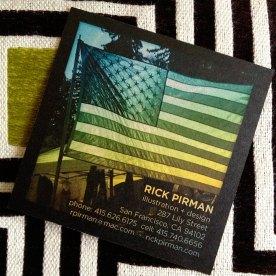 Flag card side 2