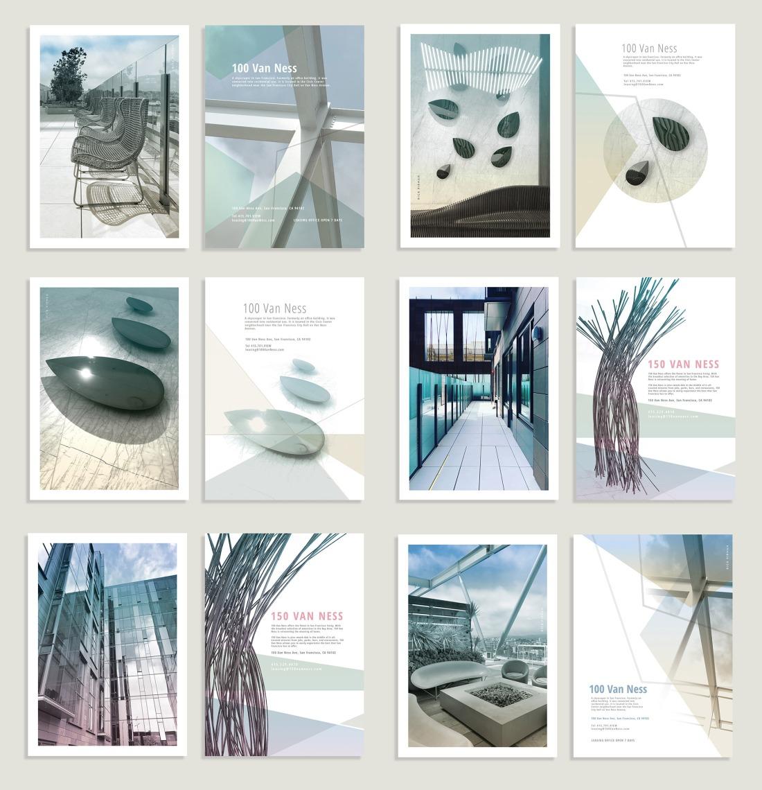 Postcards 100 van ness 6 cards web